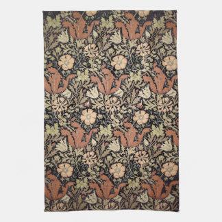 Vintage William Morris Pattern. Towel