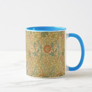 Vintage William Morris Pink and Rose Mug