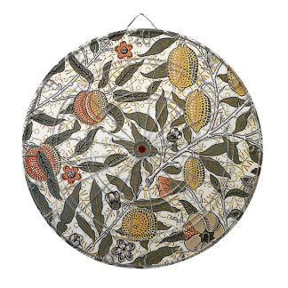 Vintage William Morris Pomegranate Dartboard