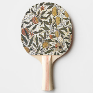 Vintage William Morris Pomegranate Ping-Pong Paddle