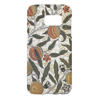 Vintage William Morris Pomegranate Samsung Galaxy S7 Case