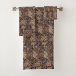 Vintage William Morris Redcar Bath Towel Set