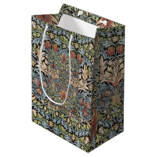 Vintage William Morris Snakehead Medium Gift Bag