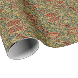Vintage William Morris Wandle Wrapping Paper