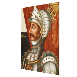 Vintage William The Conqueror Painting Canvas Print