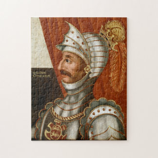 Vintage William The Conqueror Painting Jigsaw Puzzle