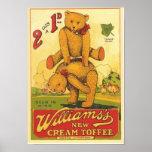 Vintage Williams's new Cream Toffee Ad Print