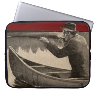 Vintage Winchester Firearms Canoe Laptop Sleeve