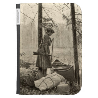Vintage Winchester Outdoors Amazon Kindle Cover