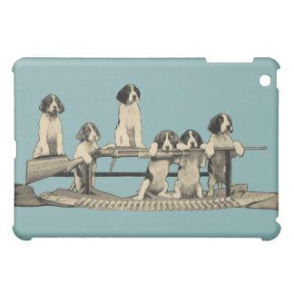 Vintage Winchester Puppies Apple iPad Mini Case