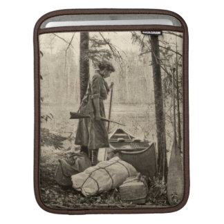 Vintage Winchester Rifle Outdoor Apple iPad Sleeve