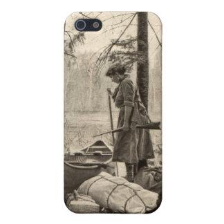 Vintage Winchester Sportswoman Apple iPhone 5 Case