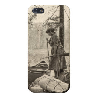 Vintage Winchester Sportswoman Apple iPhone 5 Case
