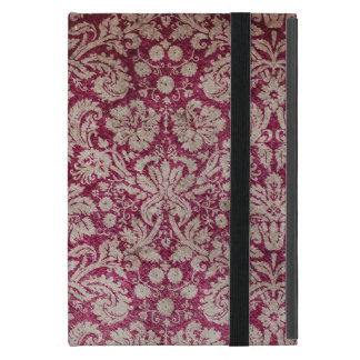 Vintage Wine Damask Cover For iPad Mini