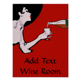 Vintage Wine Poster Edit Text