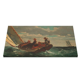 Vintage Winslow Homer A Fair Wind Canvas Print
