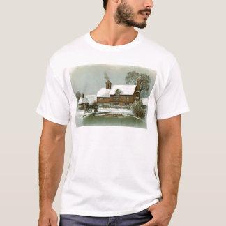 VIntage Winter Scene T-Shirt