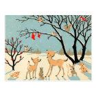 Vintage Winter Wonderland Postcard