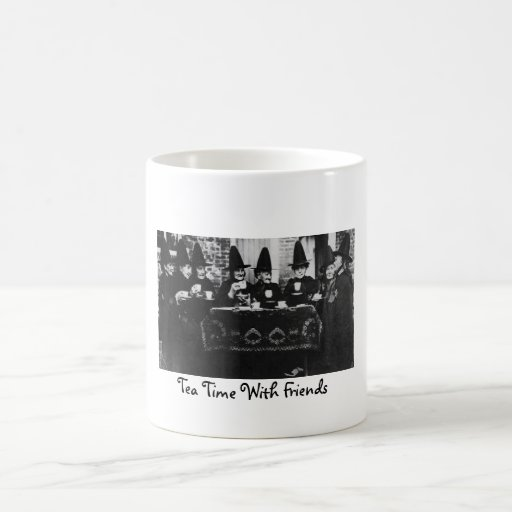 Vintage Witch Friends Coffee Mugs