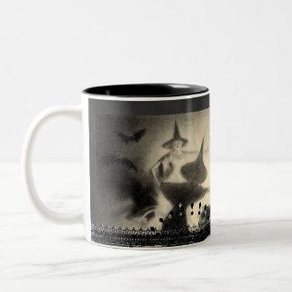 Vintage Witch Mug