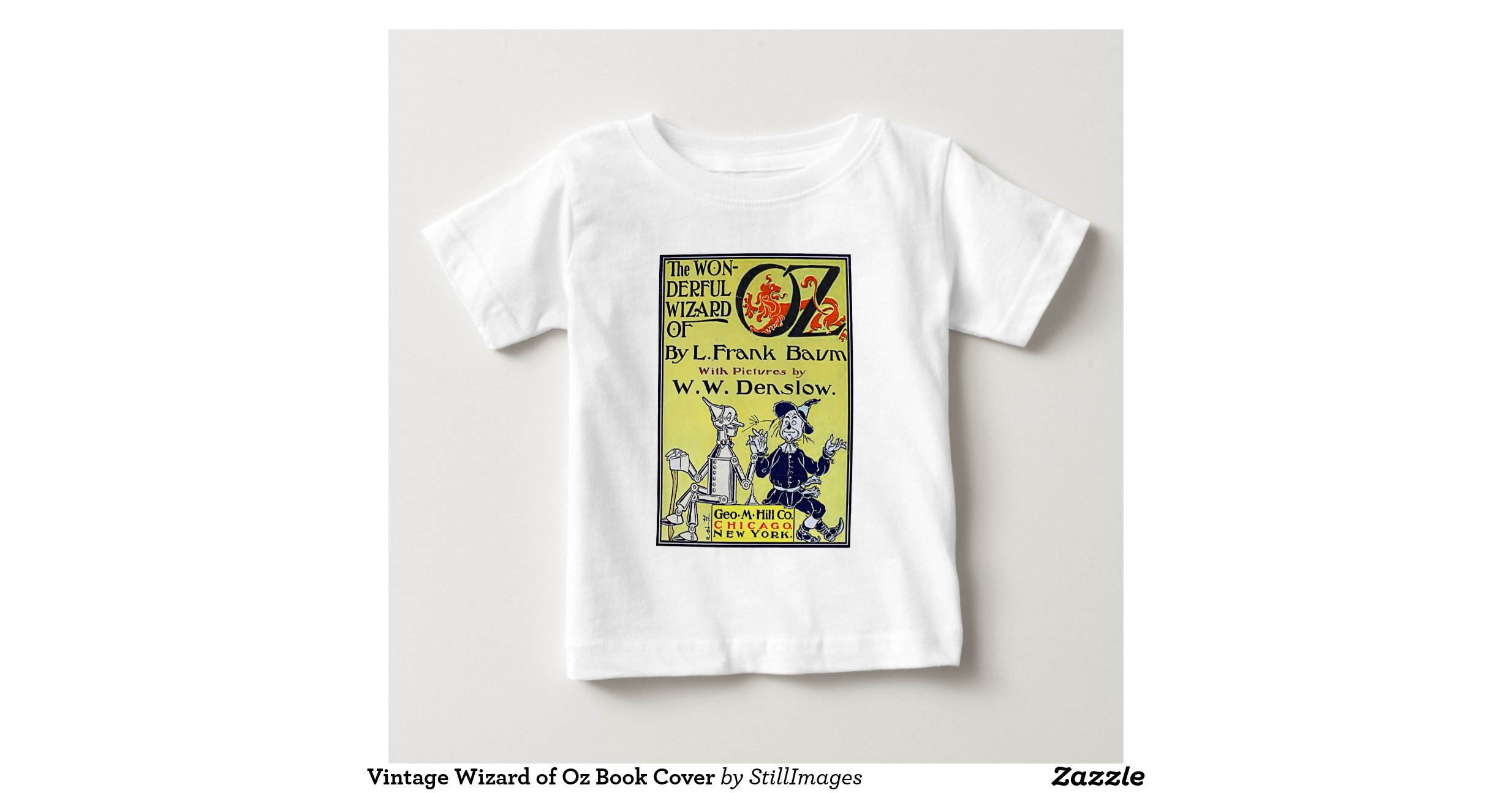 Vintage Book Cover T Shirts ~ Vintage wizard of oz book cover t shirts zazzle