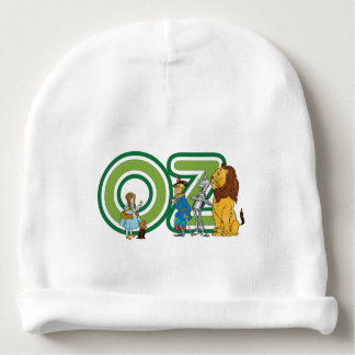 Vintage Wizard of Oz Characters and Text Letters Baby Beanie