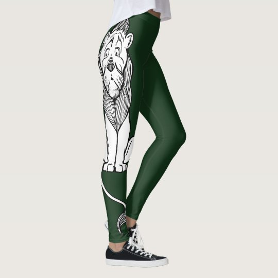 Vintage Wizard of Oz, Cowardly Lion Leggings