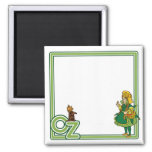 Vintage Wizard of Oz; Dorothy and Toto Refrigerator Magnets