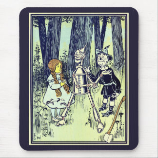 Vintage Wizard of Oz, Dorothy Meets the Tinman Mouse Pad