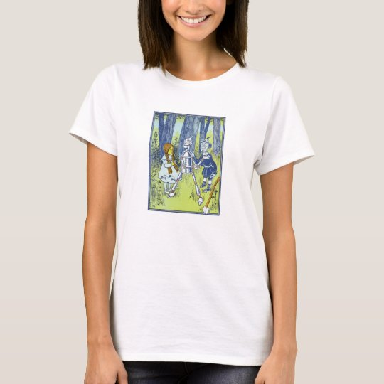 Vintage Wizard of Oz Dorothy meets Tin Man T-Shirt