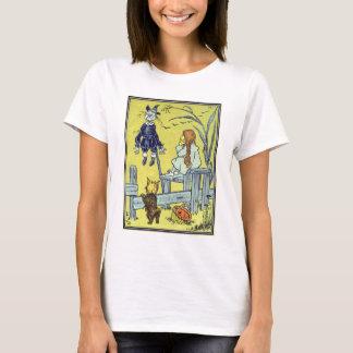 Vintage Wizard of Oz, Dorothy Toto Meet Scarecrow T-Shirt