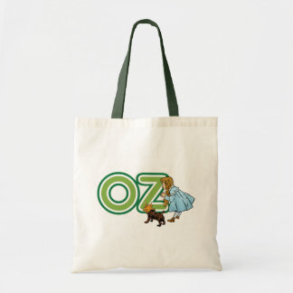 Vintage Wizard of Oz Dorothy Toto with BIG Letters Tote Bag