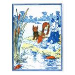 Vintage Wizard of Oz Illustration - Pond Postcard