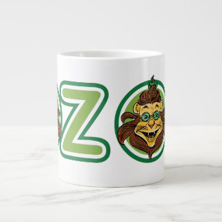 Vintage Wizard of Oz, Lion in the Letter O Giant Coffee Mug