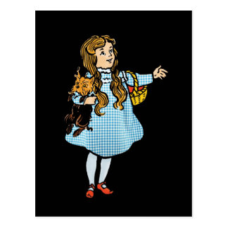Vintage Wizard of Oz Postcard
