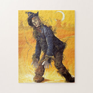 Vintage Wizard of Oz Scarecrow Puzzles