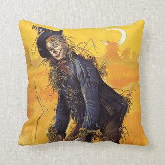 Vintage Wizard of Oz Scarecrow Throw Pillow
