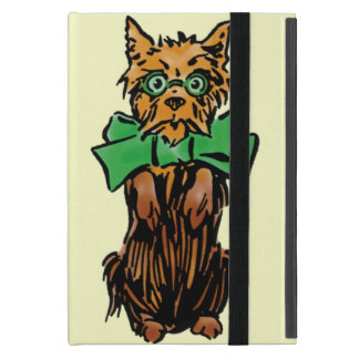 Vintage Wizard of Oz Toto Dog with Green Bow iPad Mini Cover