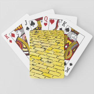 Vintage Wizard of Oz Yellow Brick Road by Denslow Poker Deck