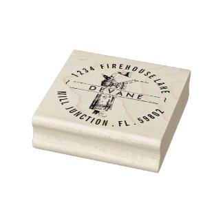 Vintage Wizard Return Address Stamp