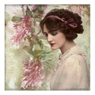 Vintage-woman Acrylic Print