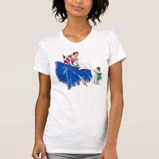 Vintage Woman and Her Dog Tee Shirt