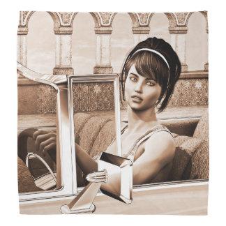 Vintage Woman Bandana