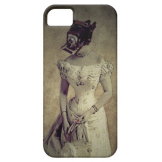 Vintage Woman Camera Art Decor iPhone 5/5S Covers