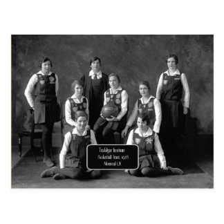 Vintage Women's Basketball Team, 1928, QC Postcard