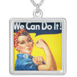 Vintage Womens Rights Ad Pendants