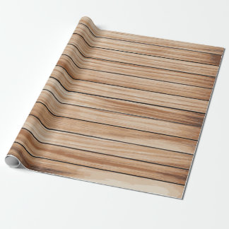Vintage wood texture wrapping paper