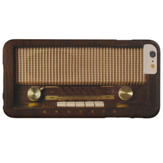 Vintage wooden radio barely there iPhone 6 plus case