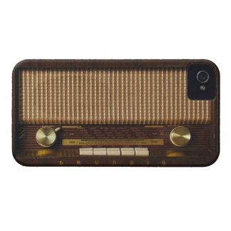 Vintage Wooden Radio iPhone 4 Case