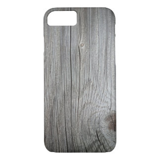Vintage Wooden Textured iPhone 7 Case